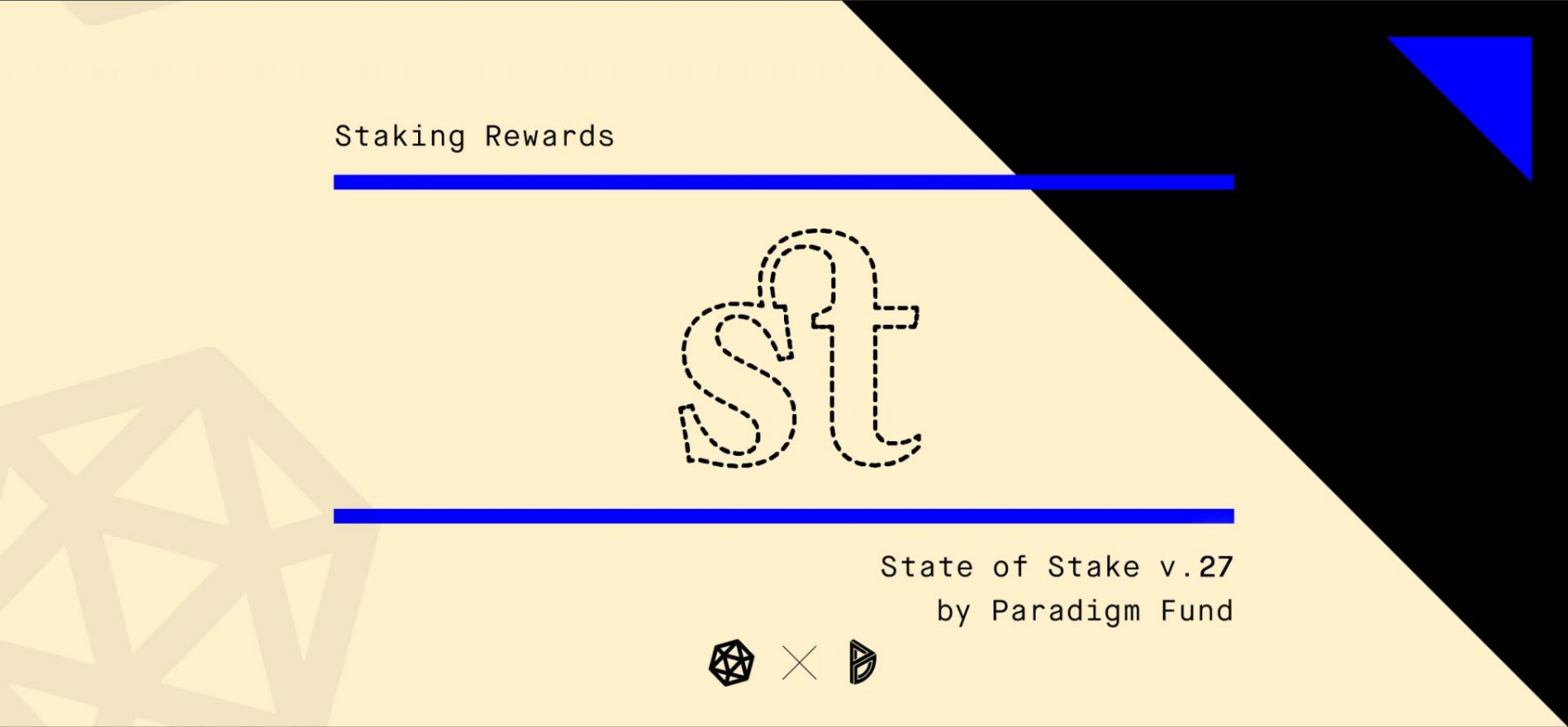 State of Stake #27 is now live!  Read the latest news of all things Staking cove... 2