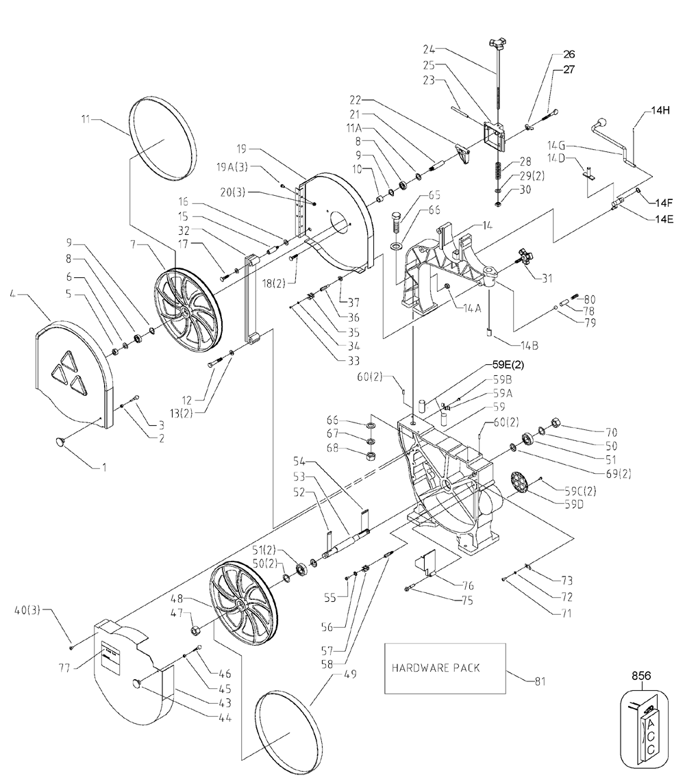 Delta Bench Band Saw Parts Drillpressdiagramjpg