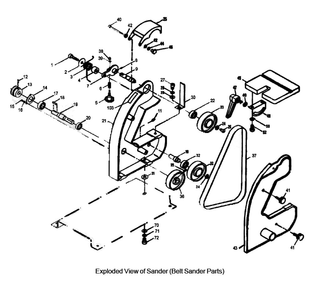 Parts Bench Grinder Wilton