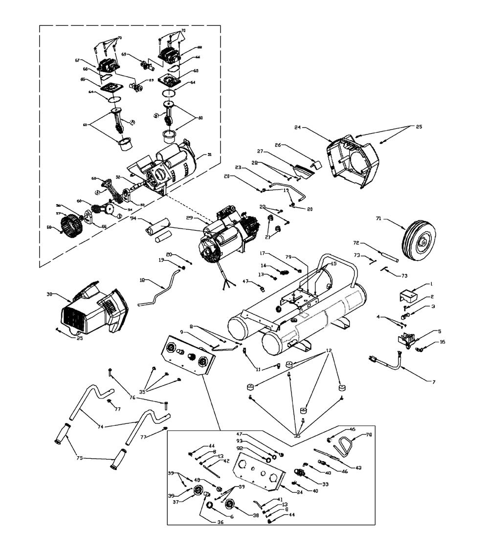 Honda gx630 engine wiring diagrams additionally dewalt air pressor piston wiring diagrams together with skil drill
