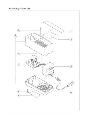 Buy Hitachi UC12SD Replacement Tool Parts | Hitachi UC12SD