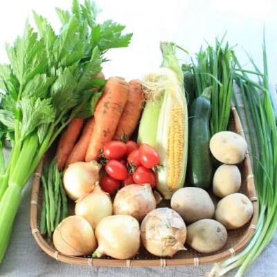 沖縄の季節野菜セット【S: 1〜2人用】4品〜5品
