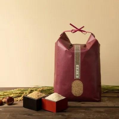 【令和2年産】オーガニック 自然栽培ミルキークイーン 5kg 玄米/白米