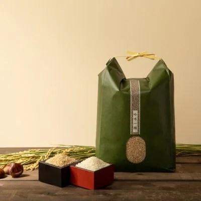 【令和2年産】オーガニック 自然薬栽培 イセヒカリ 5kg 玄米/白米