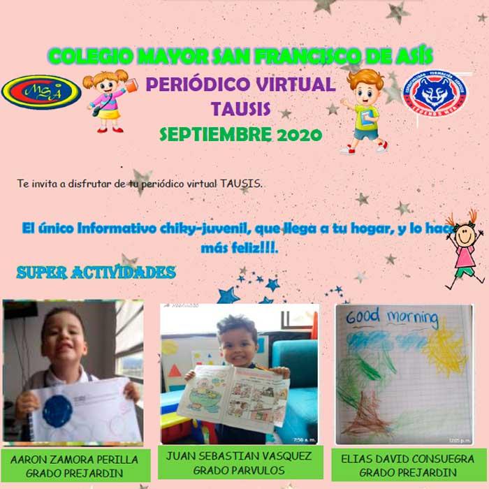 Periodico Tausis - Septiembre de 2020