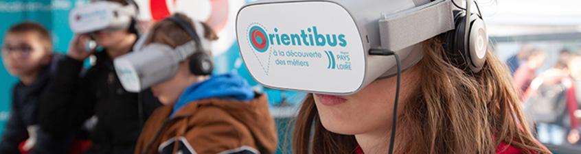Découvrez votre futur métier dans l'orientibus en ligne