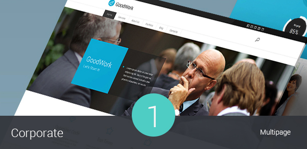Corporate & Business WordPress Theme