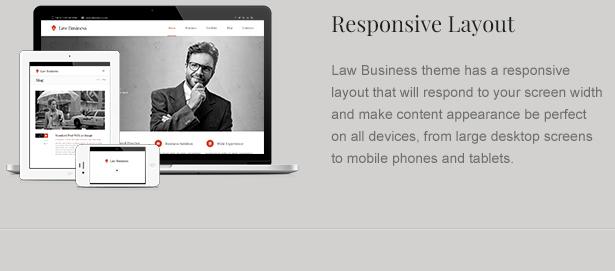 Responsive Attorney WordPress Theme