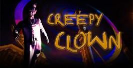 Creepy Clown Projection