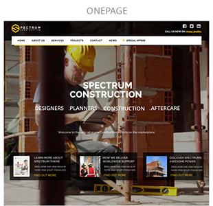 Spectrum - Multi-Trade Construction Business Theme - 7
