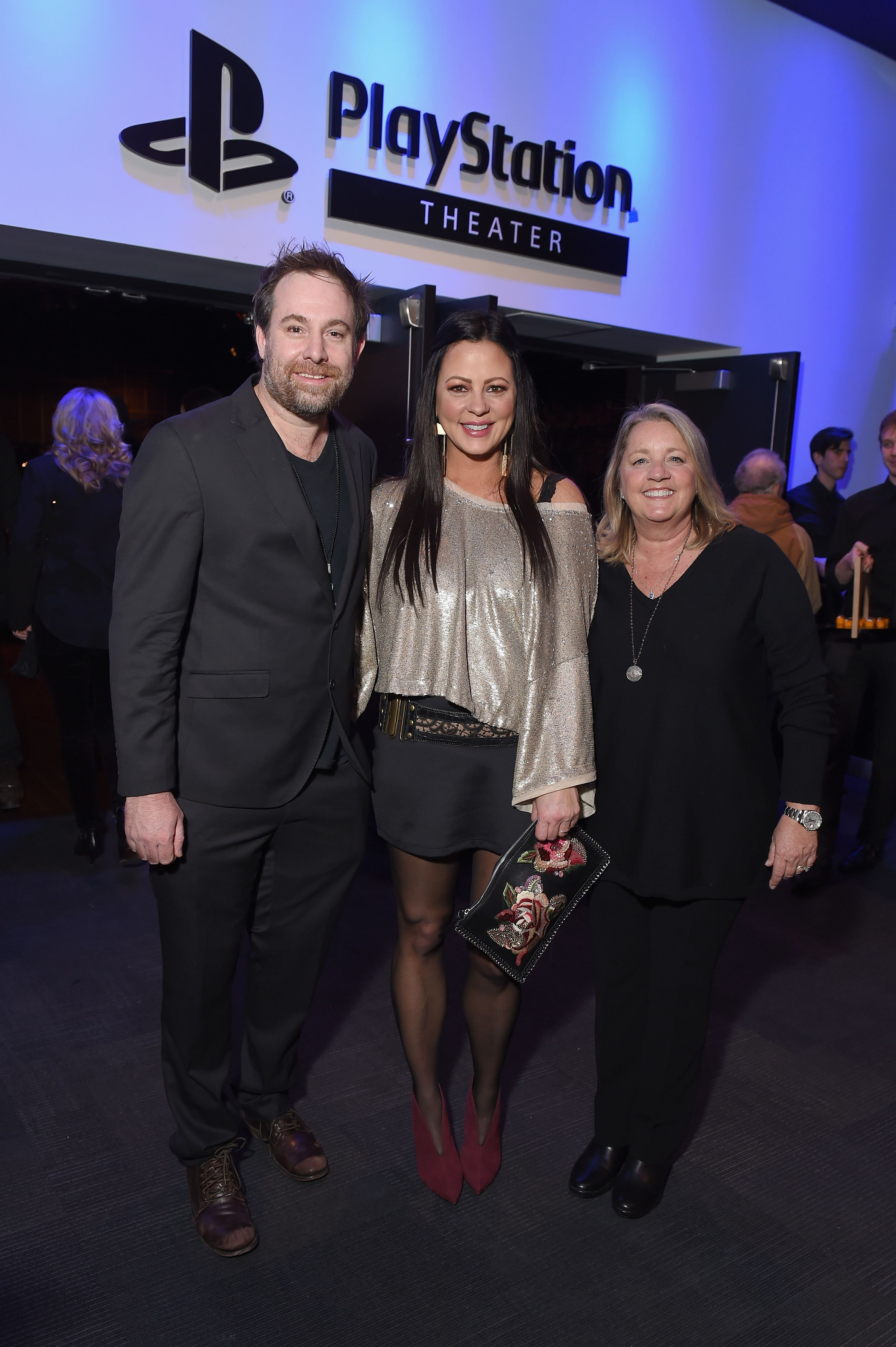 NEW YORK, NY - FEBRUARY 12: Songwriter Phil Barton, musician Sara Evans and songwriter and publisher Liz Rose attend the Country Music Hall of Fame and Museum's 'All for the Hall' Benefit on February 13, 2018 in New York City. (Photo by Michael Loccisano/Getty Images for Country Music Hall Of Fame)