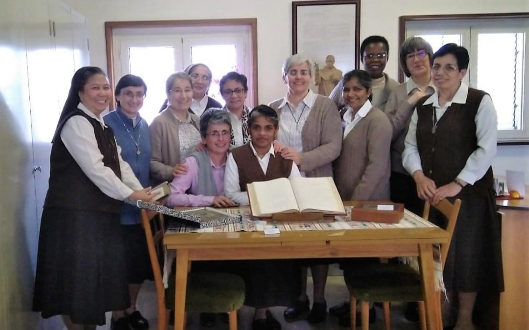 VISITA DEL GOBIERNO GENERAL DE LAS CARMELITAS MISIONERAS