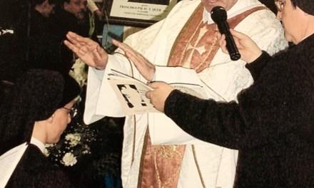 FELIZ 25 ANIVERSARIO DE CONSAGRACIÓN RELIGIOSA HNA. MARÍA JOSÉ GAY, ANIMADORA GENERAL