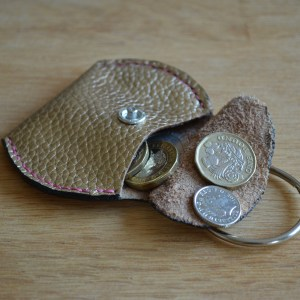 Coin pouch - gold