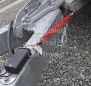 RECOILING BREAKAWAY CABLE | CM Trailer Parts | New Zealand Trailer Parts & Accessories | Trailer
