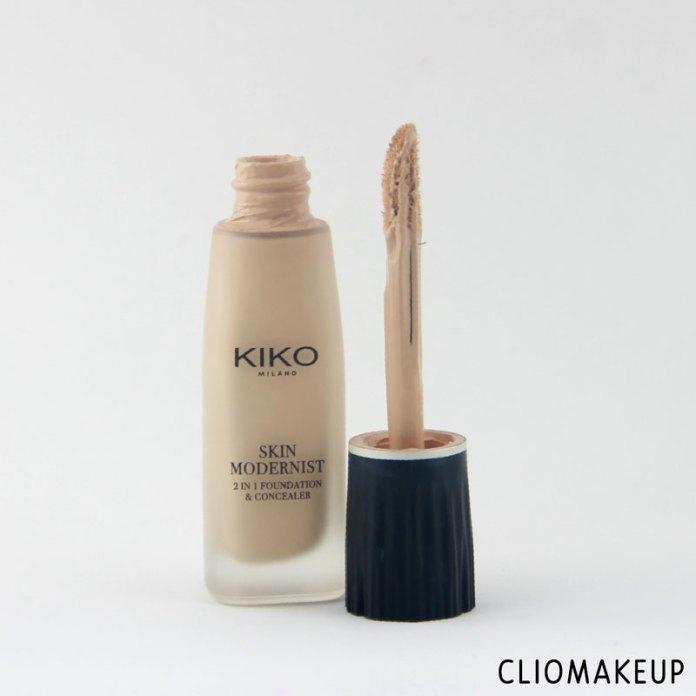 cliomakeup-recensione-skin-modernist-2-in-1-foundation-and-concealer-kiko-2