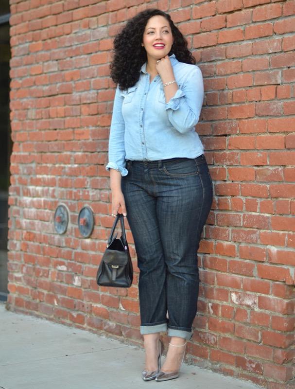 ClioMakeUp-mom-boyfriend-girlfriend-jeans-camicia