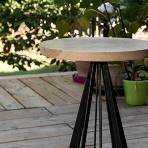 Table style industriel Atelier Simon, fabriqué en France
