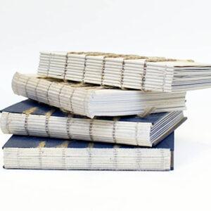 Livres reliures Atelier Dreieck, fabriqués en France