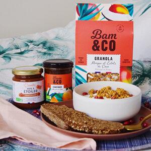 Produits naturels Bam&co, fabriqués en France