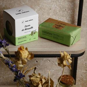 Savons naturels Body nature, fabriqués en France