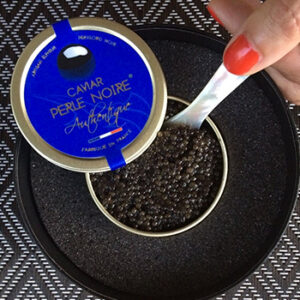 Caviar Perle Noir, élevage français