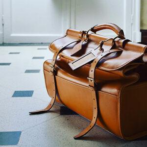 Alexandre Mareuil, sac de voyage en cuir fabriqué en France à Artigues-près-Bordeaux en Nouvelle-Aquitaine