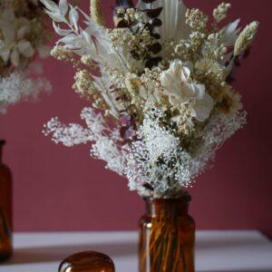Composition florale bouquet de fleurs atelier Garlantez, réalisé en France