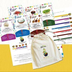 Set de jeux éducatifs pour enfants Envoyajeux, fabriqué en France en Auvergne-Rhône-Alpes