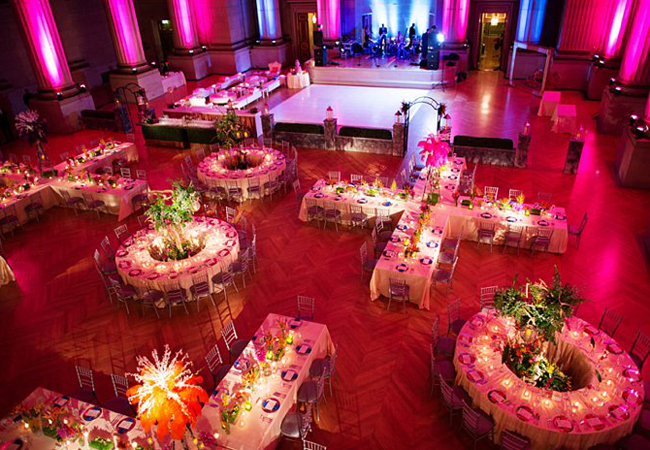 Creative Ceremony And Reception Seating