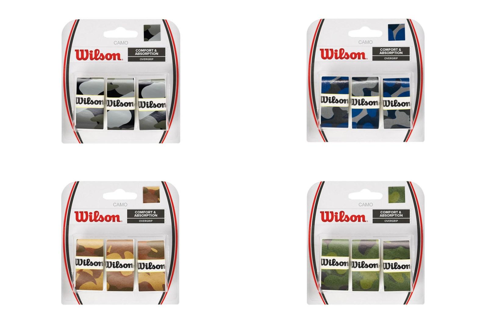 Wilson 全新「CAMO」迷彩系列正式发布