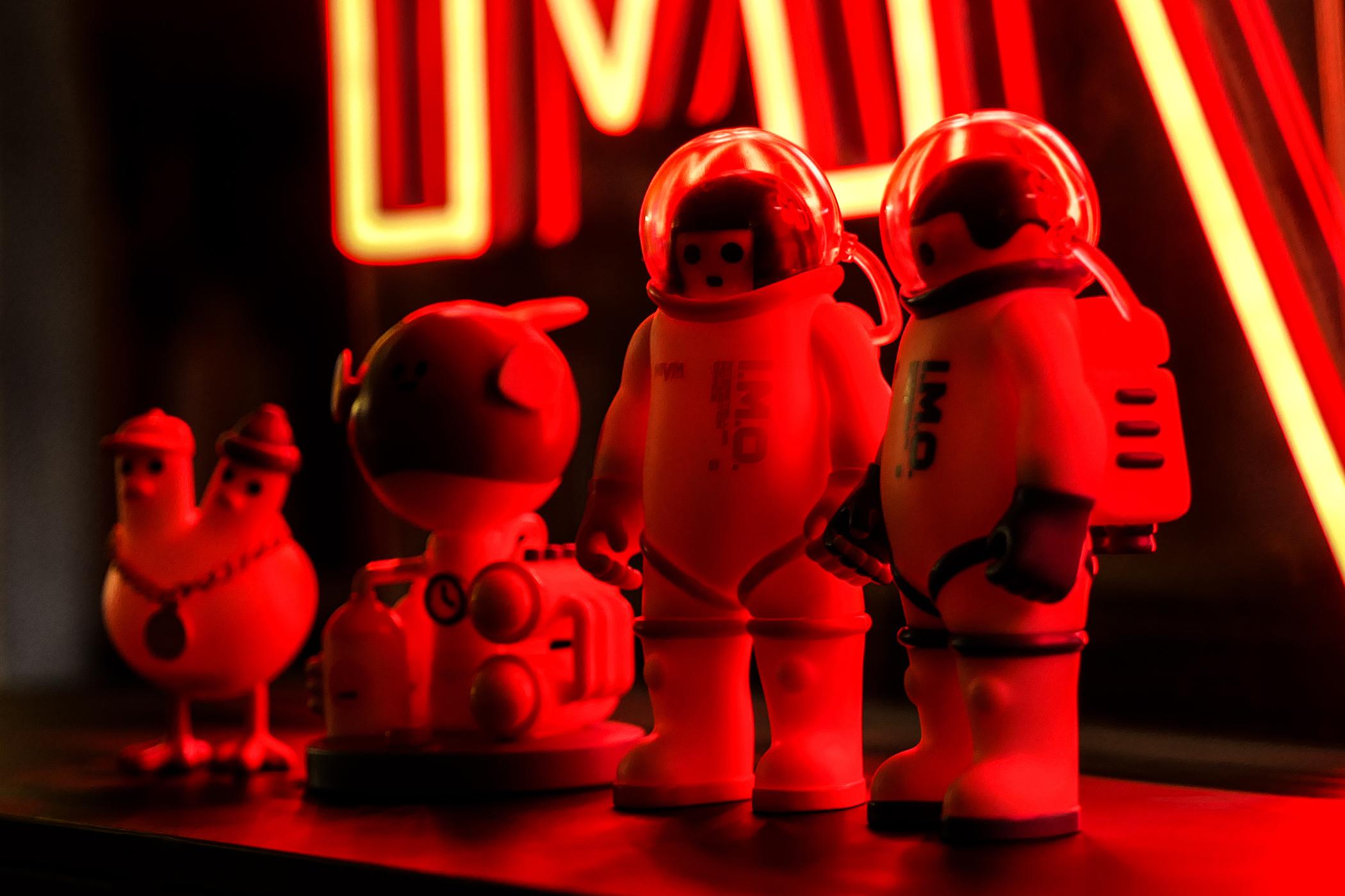 近赏 MVM 全新「I.M.O.」潮流玩偶系列