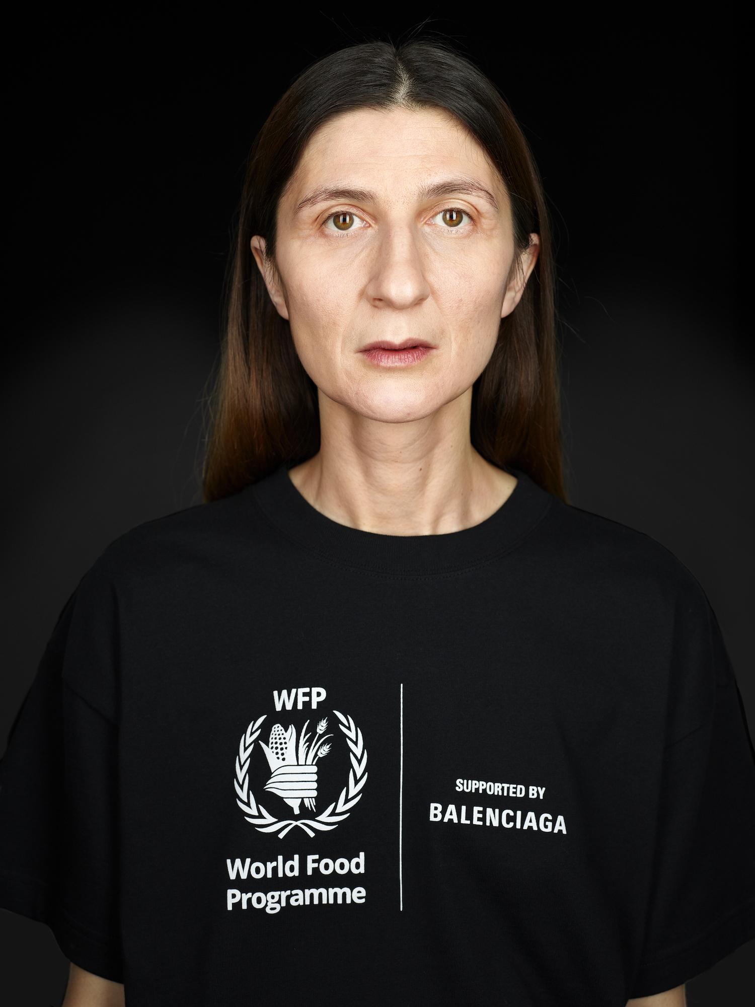Balenciaga 以新系列继续支持世界粮食计划署
