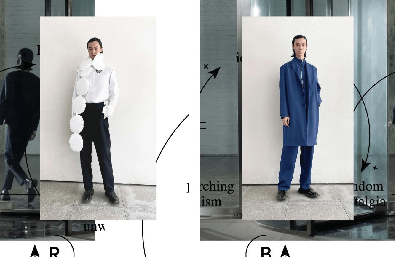 精选本季概念与衣物设计一致的 8 个系列,并邀设计师分享细节背后信息|上海时装周细节特辑