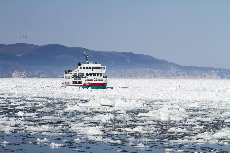 [网走]位于北纬44度的流冰之城