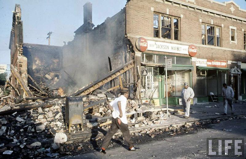 10136 Американский бунт. Детройт, 1967 год
