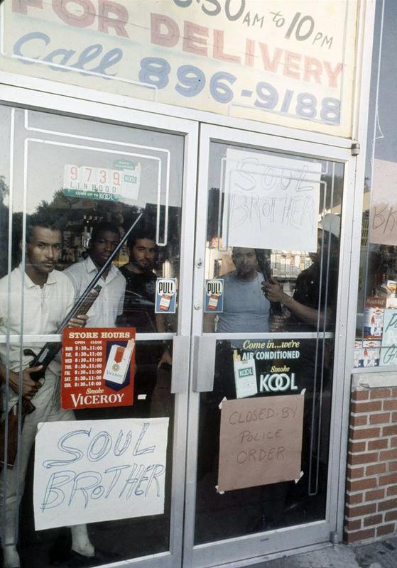 6158 Американский бунт. Детройт, 1967 год