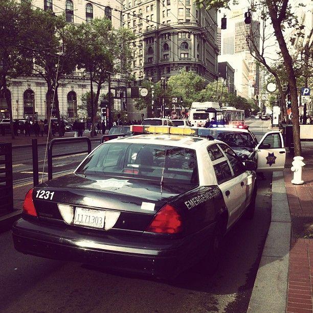авто, сша, полиция