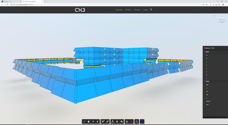 CN3 modellering Oslo Plads