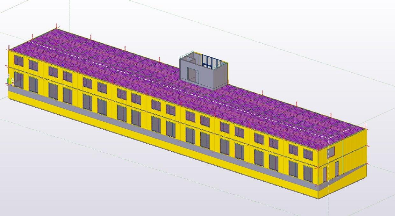 3d modellering bygning
