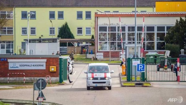 Over 100 released from COVID-19 quarantine in Germany