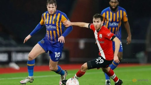 Football: Southampton beat Shrewsbury to set up Arsenal FA ...