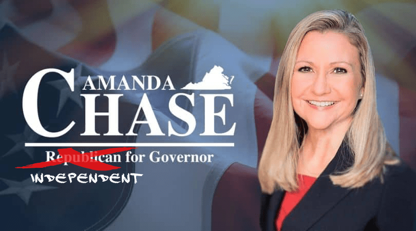 Amanda Chase Throws a Wrench in VA GOP's Comeback Hopes