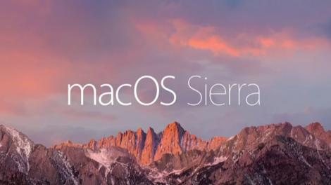 Updated: macOS Sierra release date, news and features