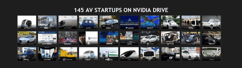 Auto startups on NVIDIA DRIVE