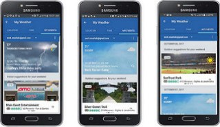 The Weather Channel Made for Samsung App