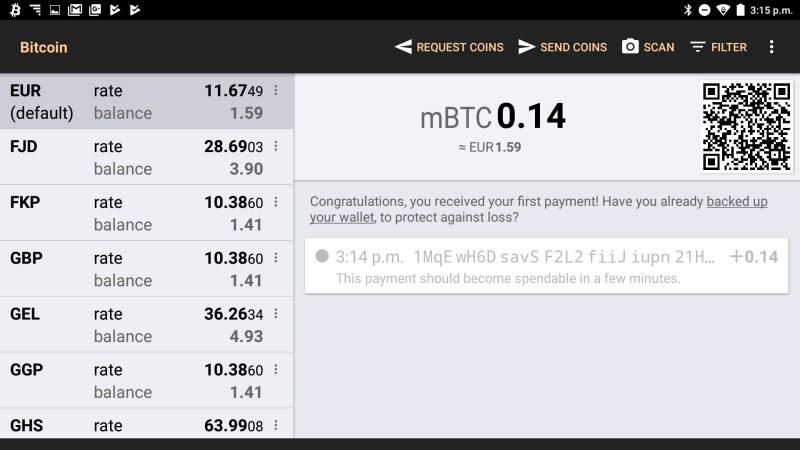 Bitcoin Wallet