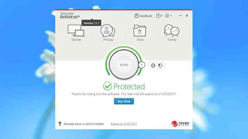Trend Micro Antivirus+ Security offers solid protection but has strong demands