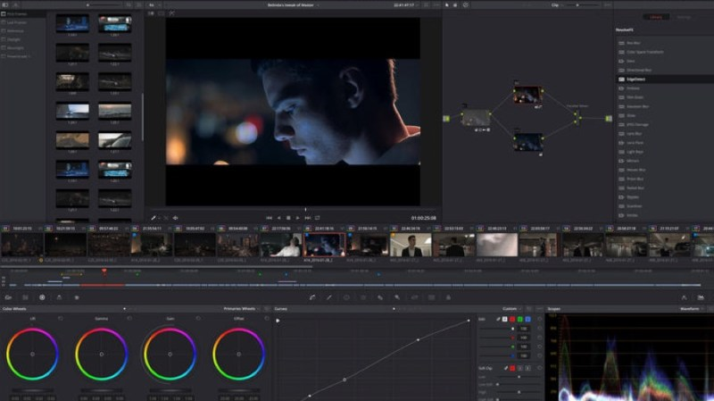 DaVinci Resolve screen grab