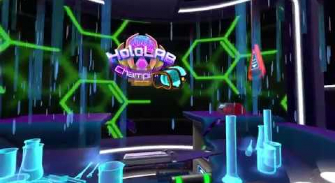 'HoloLab Champions' Teaches Real Lab Practice Skills